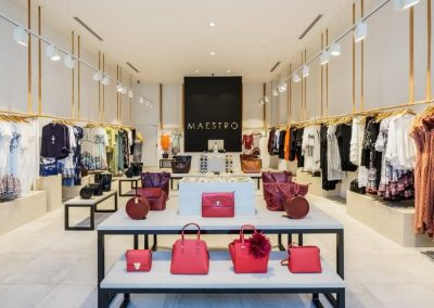 Maestro Pacific Fair – Shop Fitout
