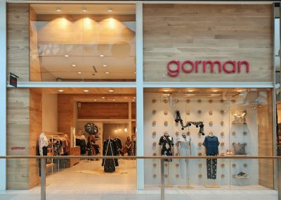 Gorman Pacific Fair – Shop Fitout