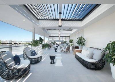 Private Gaming Room Balcony – Outdoor Fitout