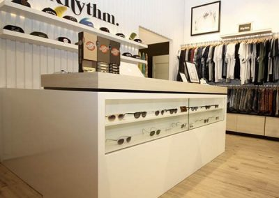 Rhythm Pacific Fair – Shop Fitout