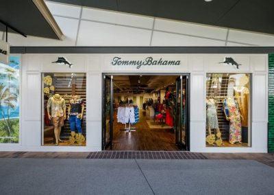 Tommy Bahama Harbour Town – Shop Fitout