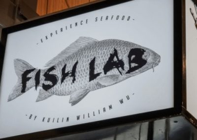 Fish Lab Robina Town Centre – Hospitality Fitout