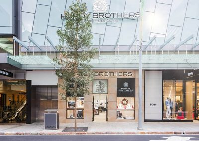 Hardy Brothers MacArthur Central – Shop Fitout