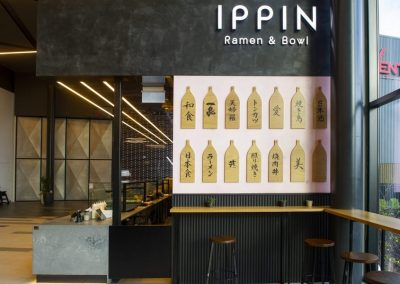 Ippin Ramen and Bowl Tauranga NZ – Hospitality Fitout