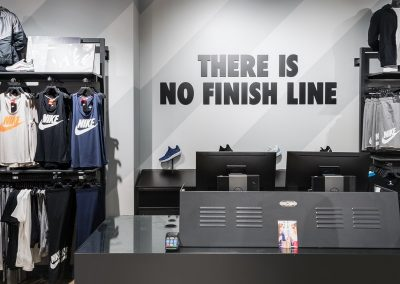 Nike Robina Town Centre – Shop Fitout