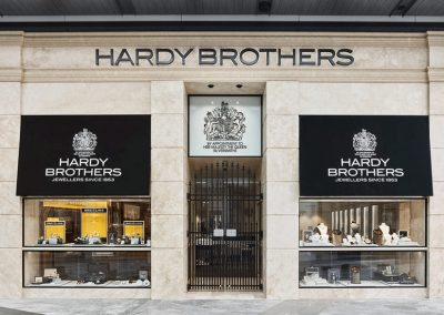 Hardy Brothers Pacific Fair – Shop Fitout
